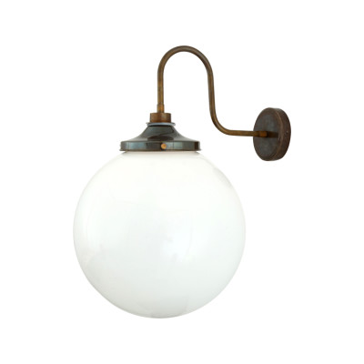 Pelagia Swan Neck Wall Light Powder Coated White