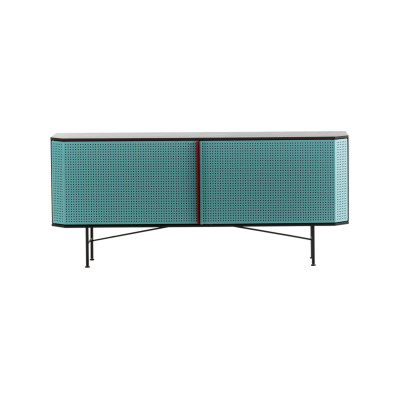 Perf Credenza Copper, Black Matt