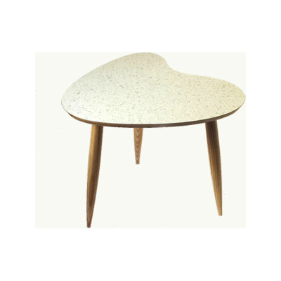 Petal Side Table Petal table Sparkled White