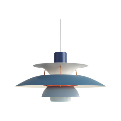 PH 5 Pendant Light Hues of Blue
