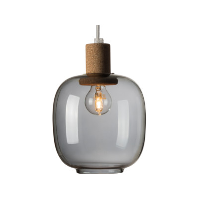 Picia Pendant Light Smoked