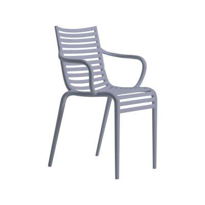 PIP-e Armchair - Set of 4 Lavender Grey