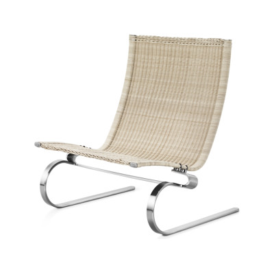 PK20™ Wicker Lounge Chair without Headrest Wicker Natural