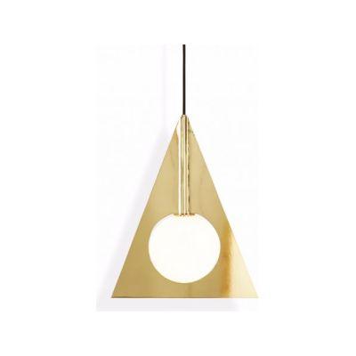 Plane Triangle Pendant Light