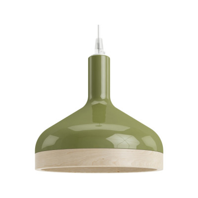 Plera Suspension Lamp Green