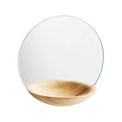 Pocket Mirror - Set of 2 Oak, Small