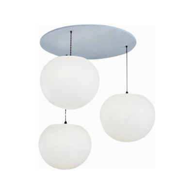 Polly 3-Drop Pendant Light