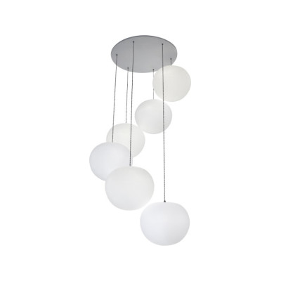 Polly 6-Drop Pendant Light