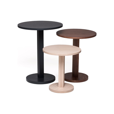 Primo large set of 3 tables Latte/Walnut/Charcoal