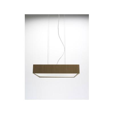 Quadrat 60x60 Suspension Lamp Wenge, Fluorescent