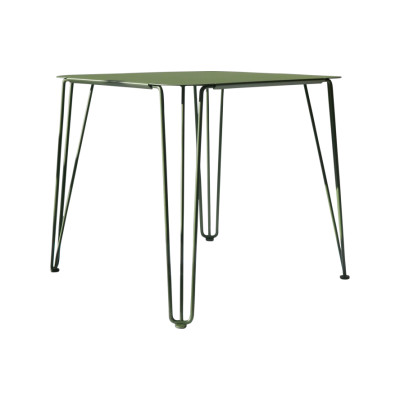 Rambla Square Dining Table Green