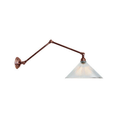 Rebell Wall Light Antique Brass