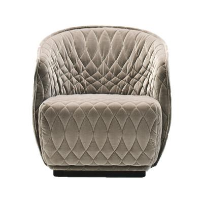 Redondo Small Armchair B0211 - Leather Oil cirè