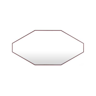 Reflection Grand Mirror Burgundy Red