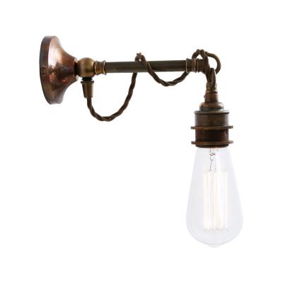 Rehau Wall Light Antique Brass