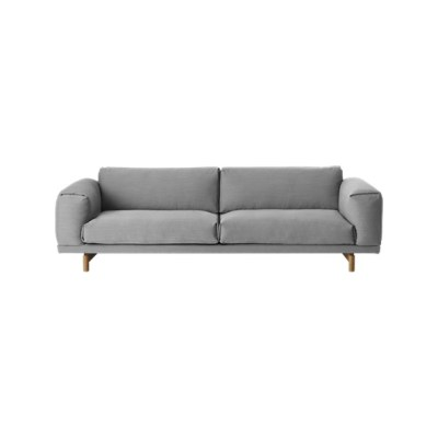 Rest 3-seater Sofa Steelcut Trio 3 133, Oak