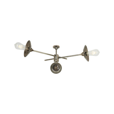 Reznor Chandelier Satin Brass