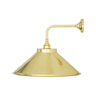 Rio Vintage Wall Light Satin Brass