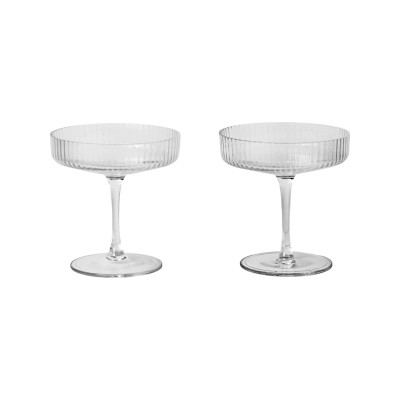 Ripple Champagne Saucer - Set of 12