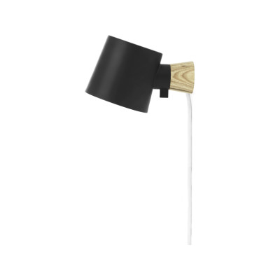 Rise Wall Lamp Black