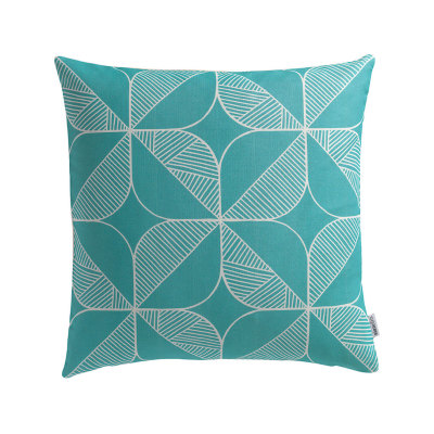 Rosette (Turquoise) Cushion Cover Only