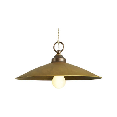 Rua Pendant Light 837/24 coffee and brass oxidized