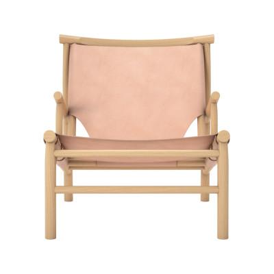 Samurai Lounge Chair Harness Leather Nature 97130