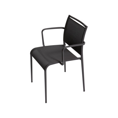 Sand Light Armchair Reti S28 Duo - Grigio Ghisa, Desalto Lacquers Grey Umbro B84, Yes