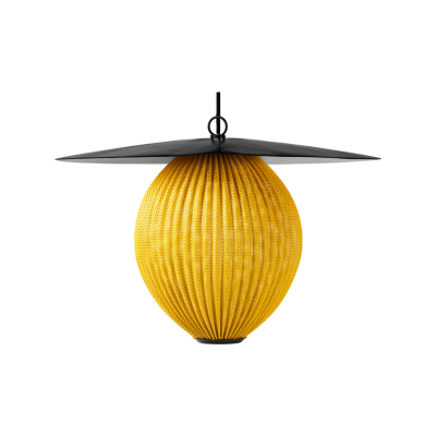 Satelitte Pendant Light Gubi Metal Venetian Gold, Medium
