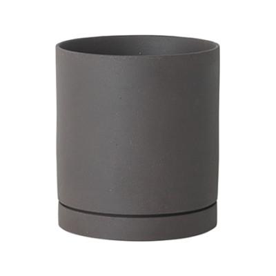 Sekki Pot - Set of 6 Large, Charcoal