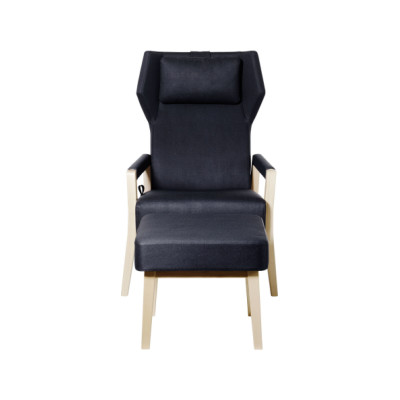 Select Wood Easy Chair Birch Natural Lacquer, Elmo Nordic 00105