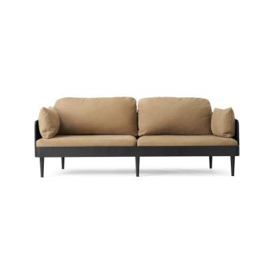 Septembre Sofa Black Ash/Lava