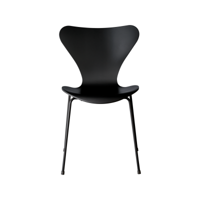 Series 7 Monochrome Chair Lacquered, Full Dark Stained Oak Black (195)