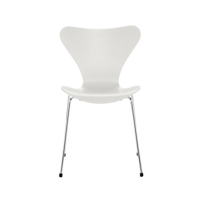 Series 7 Stackable Chair Coloured Ash White