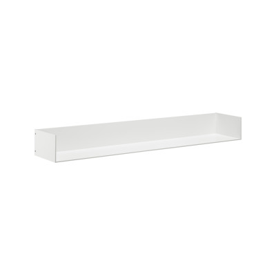 SH06 Profil Shelf with Side Panels Jet Black, Long