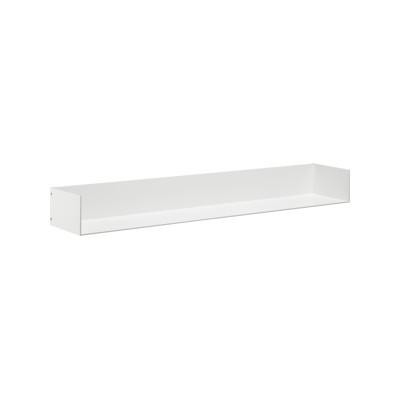 SH06 Profil Shelf with Side Panels Jet Black, Long