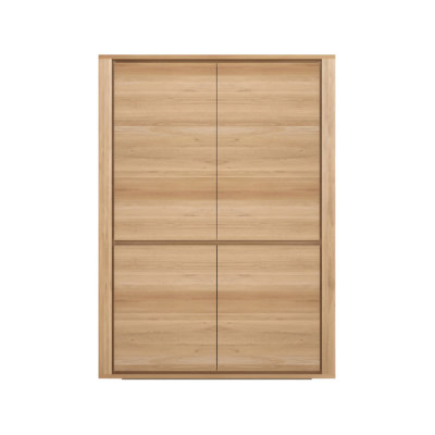 Shadow Storage Cupboard Oak