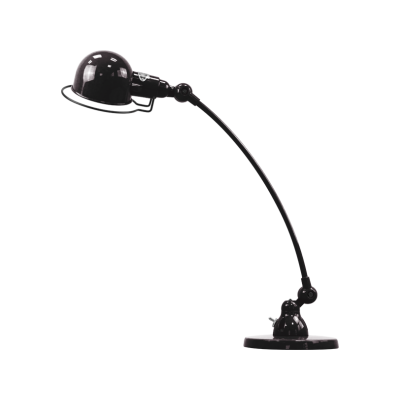 Signal Curve 1-Arm Desk Light Black, Gloss