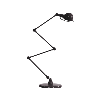 SIGNAL Zig-zag 4 Arm Desk Lamp Black, Gloss