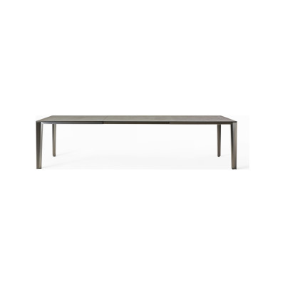 Skin Dining Table - Extendable B22 Bungee Brown, D84 White Calce, 100 x 200/300cm