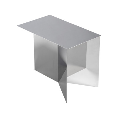 Slit Oblong Side Table Mirror