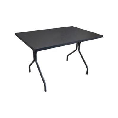 Solid Rectangular Dining Table Dark Green 75