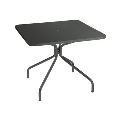 Solid Square Dining Table Aluminium 20