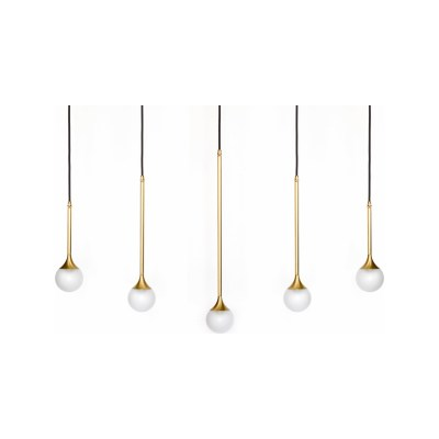 Solo 5 Suspension Light Brass
