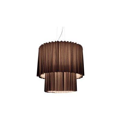 SP Skirt 2  Pendant Light Light Green, No Black Net, Built in LED, 124