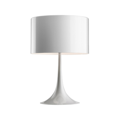 Spun Light Table Lamp T1, White