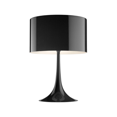 Spun Light Table Lamp T2, Black