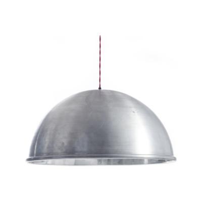 Spun Raw Pendant Light Raw Aluminium, Large