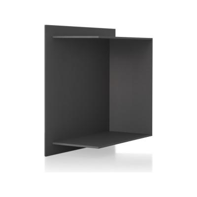 Square Shelf Element C Medium Grey