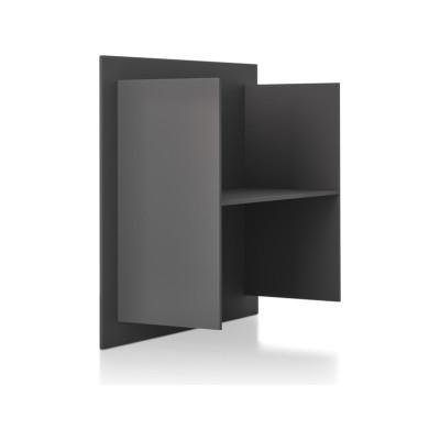 Square Shelf Element H Medium Grey